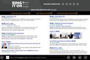 Microsoft goes head-to-head with Google in 'Bing it on' campaign