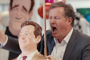 The buzz: Lotto work stars Katie Price and Piers Morgan