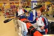Tesco teams up with GB Canoeing
