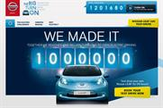Nissan: recent social media activity included 'the big turn on'