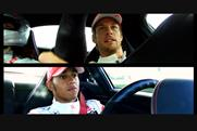 Jenson Button and Lewis Hamilton at the wheel