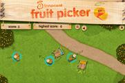 Innocent: launches Fruit Picker Facebook game