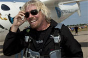Branson: founder of Virgin Group