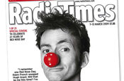 David Tennant...one of 21 covers of this week's Radio Times