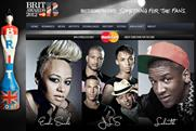 MasterCard: offers music fans the chance to star in TV ad