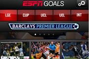 ESPN Goals app