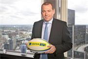 Rugby deal: Aviva's UK chief executive Mark Hodges
