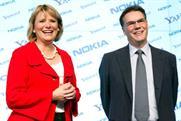 Yahoo's Carol Bartz and Nokia's Olli-Pekka Kallasvuo