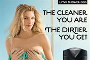 Banned: outdoor ad for Lynx Excite