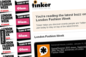 Tinker: London Fashion Week site