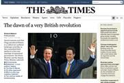 The Times: revamped website launched