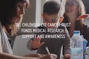 The Childhood Eye Cancer Trust: eschewed shock tactics