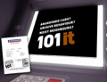 ATM ad: promoting 101 number