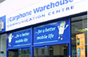 Carphone Warehouse: appoints Blueberry Wave