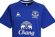 Beer brand Chang sponsors Everton