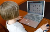 Social networking: popular with under age children