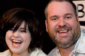 Osbourne and Moyles: star in revamped schedule