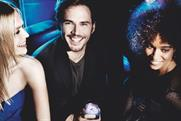 Sam Clafin: the British actor is one of the famous faces appearing in ads for Diageo's Ciroc vodka