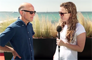 William Eccleshare: interviewed by Maisie McCabe in Cannes
