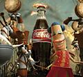 Coke: showing 'happiness in a bottle'