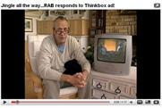 The RAB ad featuring Arthur Smith