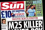 The Sun: cover price rises by 5p to 30p in the London area