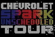Chevrolet: launches pop-up music tour