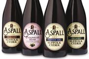 Aspall: £1m push to support new packaging design
