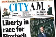 City AM: marks fifth anniversay with return to profit