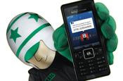 Eric: Sony Ericsson and 3 mascot