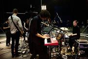 The Maccabees: during filiming of the content