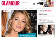 Glamour's new look website