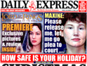 Daily Express: Williams quits