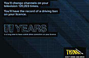 Think!: latest drink drive campaign