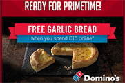 Domino's: updates X Factor app