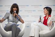 Tyra Banks speaks at The NewFront 2011