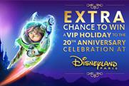 Disney: deal with Morrisons highlights Disneyland Paris' 20th anniversary
