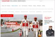 McLaren F1: re-launching website
