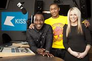 Kiss 100 Breakfast presenters Rickie, Melvin and Charlie