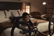 Holiday Inn: ad features BMX world champion Shanaze Reade