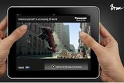 Panasonic Padvertising: Brave develops its first tablet ad