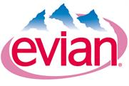 Evian: highest share of voice