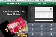 You can now pay for coffee at Starbucks, using an iPhone
