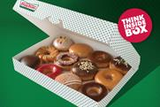 Krispy Kreme: targets office workers in latest outdoor ad campaign