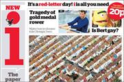 i front page: 32 ads in paper