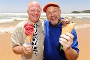 Ben & Jerry's: ice-cream brand founders Ben Cohen and Jerry Greenfield