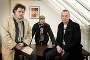 Left to right…David Howard, Neil Hughston and Paul Domenet