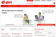 E.ON: overhauls website