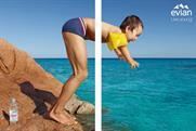 Evian's latest ad campaign