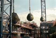 Kit Kat 'crane' by JWT London